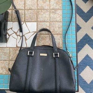 Kate space black crossbody/shoulder bag